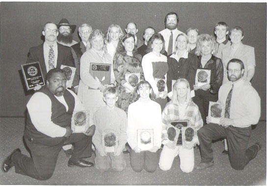 1998 Awards Banquet Winners at Natural Nationals