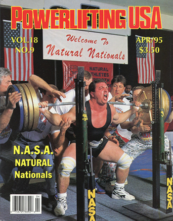 Powerlifting USA - April 1995 Issue