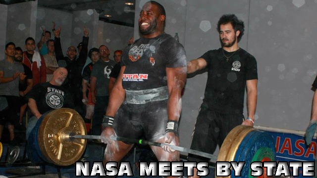 Upcoming NASA Meets by State (Banner)