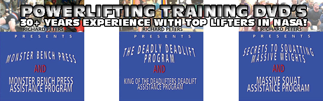 NASA Training DVD (Shop Banner)