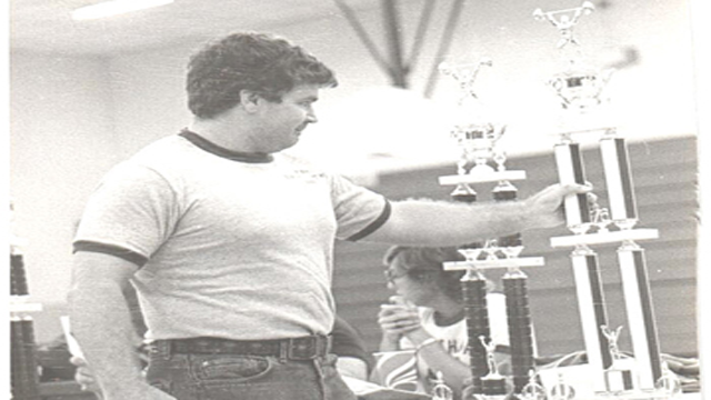 Richard Peters in 1978 (First Powerlifting Meet)