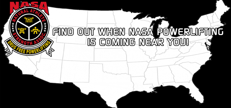 Find out when NASA Powerlifting is coming near you!