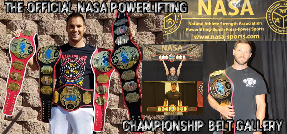 Check out NASA's Championship Belt Gallery!