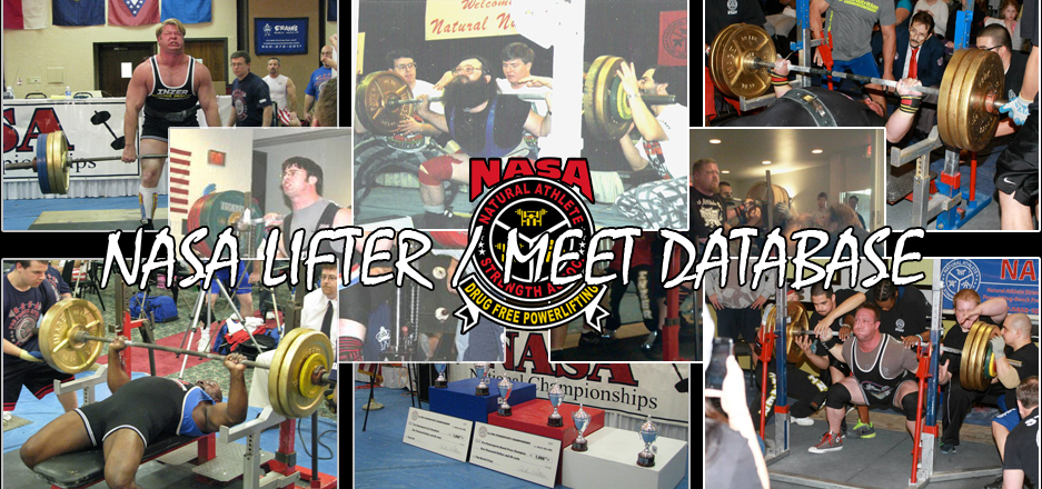 Check out the NASA lifter/meet database!