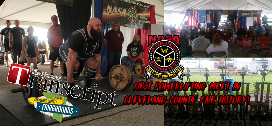 First powerlifting meet in Cleveland County Fair history!