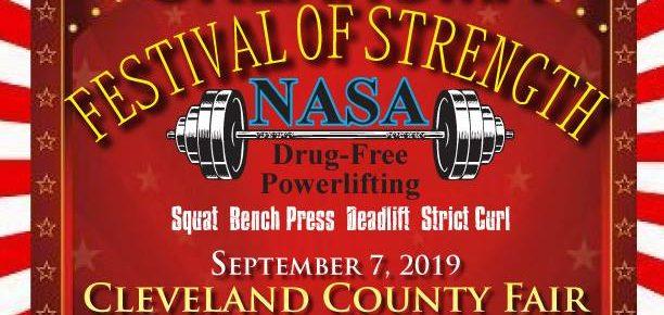 NASA Oklahoma Festival of Strength | NASA Powerlifting